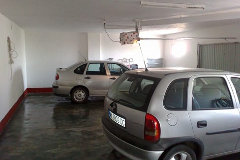 Large Garage with electronic door