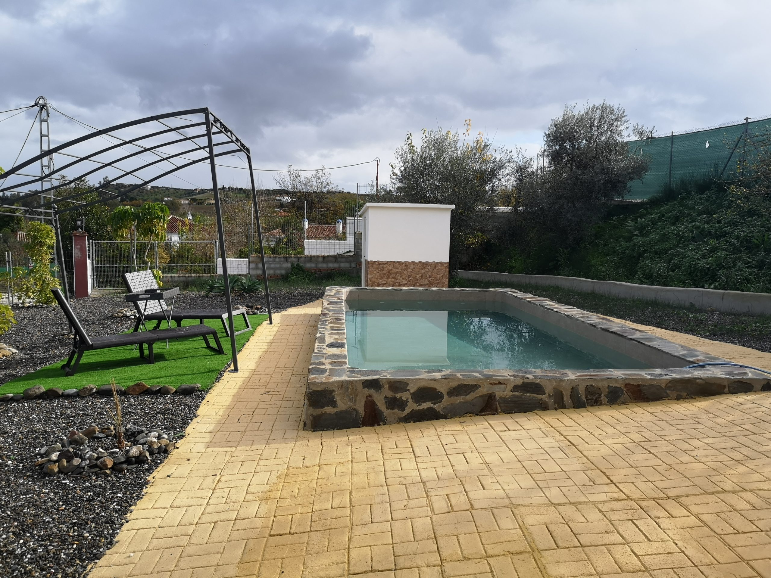 Ri 640 Brand new three bedroom finca with pool and land – 950€
